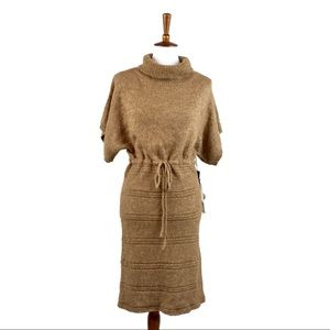Kersh Convertible Sweater Dress Cowl Turtle neck